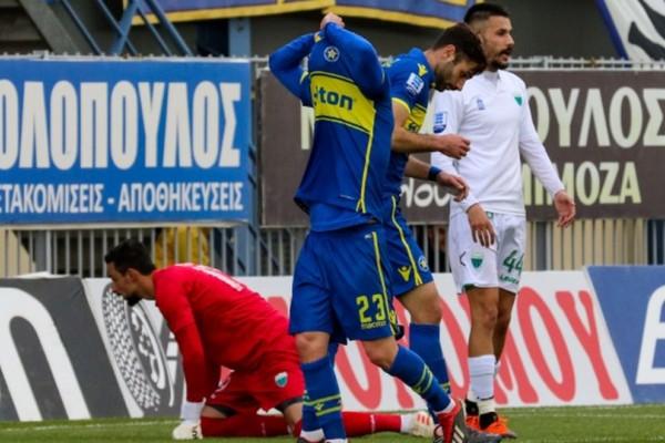 Super League: Έμπλεξε άσχημα ο Αστέρας!