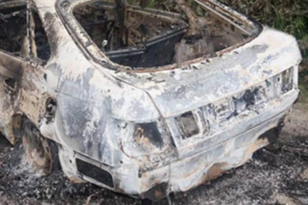 Θεσσαλονίκη: Πυρκαγιά σε ταξί ενώ βρισκόταν στο δρόμο!