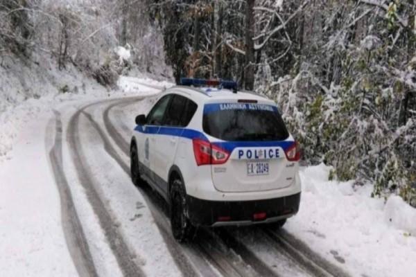 Χιονοδρομικό κέντρο στο Καϊμακτσαλάν: Διακοπή κυκλοφορίας λόγω χιονιού!