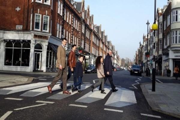 Λονδίνο: H πρώτη 3D διάβαση πεζών!