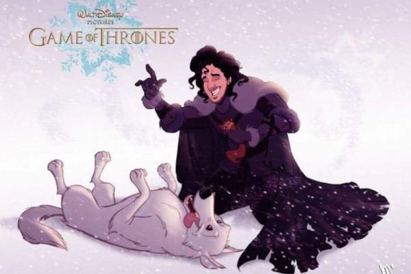 Αν το Game of thrones ήταν χαρακτήρες του Disney....