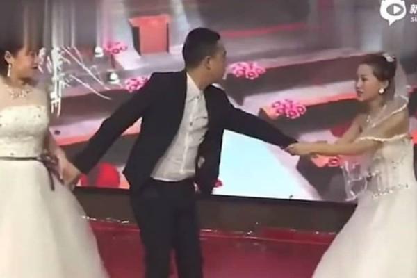 Έπος: Πρώην εμφανίστηκε με νυφικό και ζήτησε από τον γαμπρό να παντρευτεί εκείνη! (video)