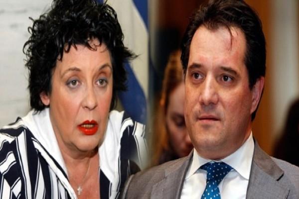 Χαμός στη Βουλή με τον άγριο καβγά του Άδωνι Γεωργιάδη και της Λιάνας Κανέλλη!