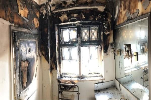 Κινδύνεψε να καεί ζωντανή πασίγνωστη ηθοποιός- Παρανάλωμα πυρός το διαμέρισμα της! (Video)