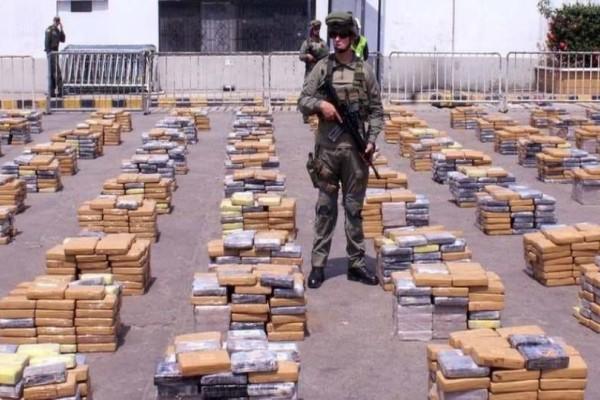 Κολομβία: Τεράστια διεθνή επιχείρηση κατάσχεσε 94,2 τόνους κοκαΐνης!