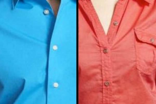 Αυτό δεν το ξέραμε: Γιατί τα κουμπιά στα ανδρικά πουκάμισα είναι στα δεξιά, ενώ στα γυναικεία αριστερά;