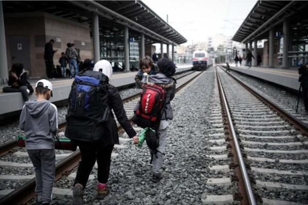 Κανονικά θα εκτελούνται τα δρομολόγια των τρένων μετά την κατάληψη του Σταθμού Λαρίσης!