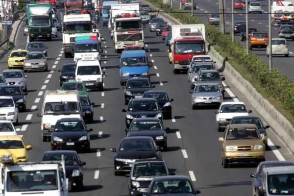 Έκτακτο: Κυκλοφοριακά προβλήματα λόγω καιρικών φαινομένων στην Αθηνών - Λαμίας!