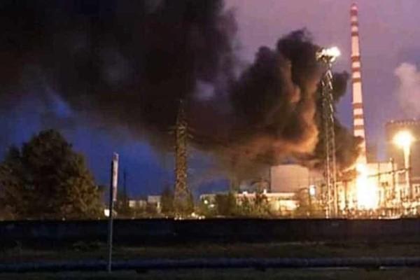 Ουκρανία: Ισχυρή πυρκαγιά σε πυρηνικό σταθμό!