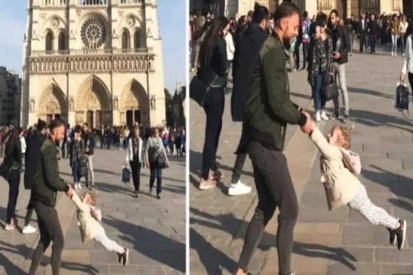 Παναγία των Παρισίων: Εντοπίστηκε ο μπαμπας με την κορούλα του που έγινε viral!