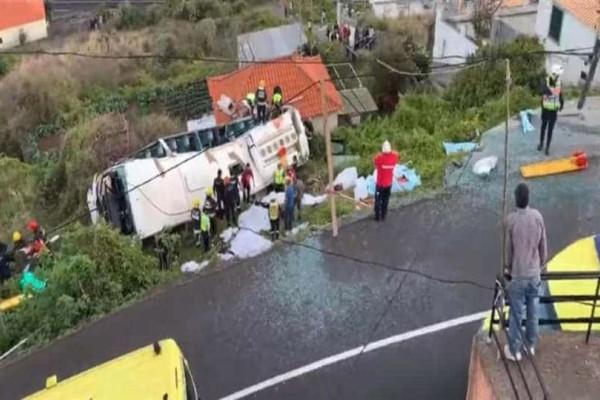 Τραγωδία στην Πορτογαλία: Δεκάδες οι νεκροί μετά την