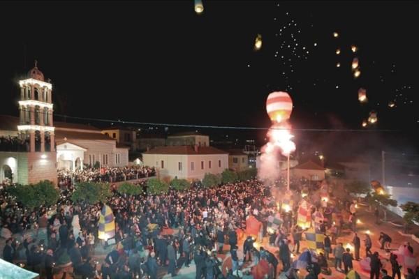 Πάσχα στο Λεωνίδιο: Βόλτα στην γραφική κωμόπολη που «βρέχει» φαναράκια!