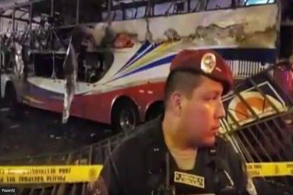 Τραγωδία στο Περού:  20 νεκροί απο λεωφορείο που πήρε φωτιά!