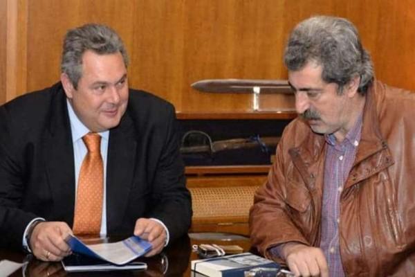 Να μην αρθεί η ασυλία τους ζήτησαν ο Καμμένος και ο Πολάκης!