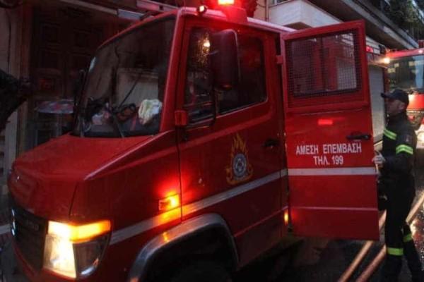 Θεσσαλική: Iσχυρή πυρκαγιά σε διαμέρισμα!