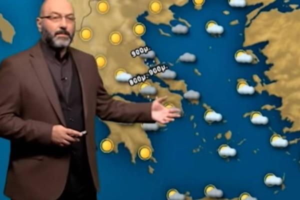 Καιρός Πάσχα: Αναλυτικά χάρτες από τον Σάκη Αρναούτογλου! Που θα βρέξει;