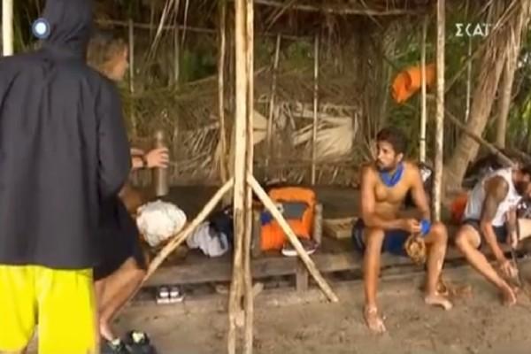 Survivor Ελλάδα Τουρκία: Στα μαχαίρια η ελληνική ομάδα για το νερό! - Ο άγριος τσακωμός των παικτών! (Video)