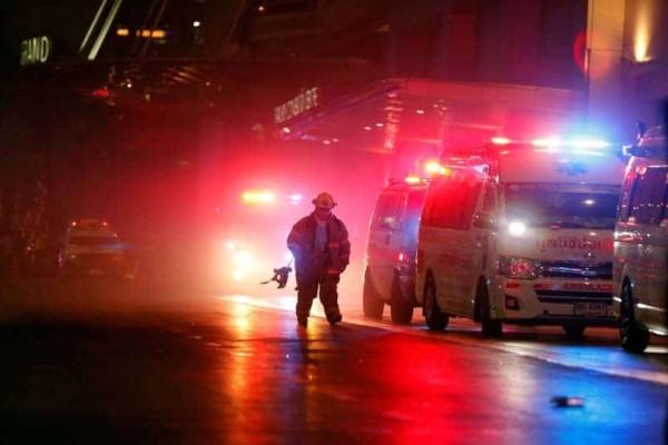 Τραγωδία στην Ταϊλάνδη: Δύο νεκροί και 16 τραυματίες από φωτιά σε εμπορικό κέντρο!