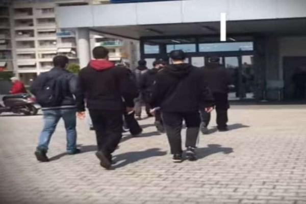Επίθεση αντιεξουσιαστών σε σούπερ μάρκετ στη Θεσσαλονίκη! (Video)