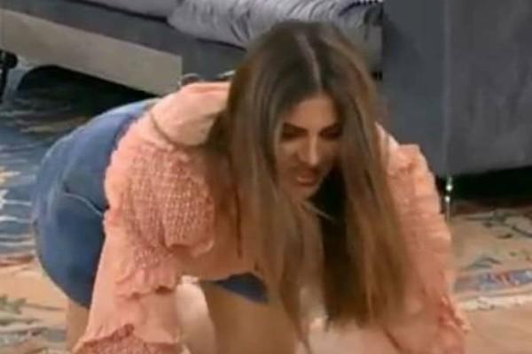 Χαμός στον Alpha: Έπεσε στο πάτωμα του πλατό η Σταματίνα Τσιμτσιλή! (video)
