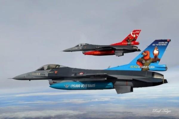 Αιγαίο: Νέες υπερπτήσεις από τουρκικά μαχητικά!