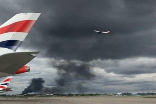 Έκρηξη και φωτιά στην Βρετανία!