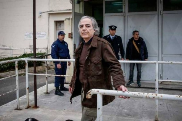 Στην εντατική ο Δημήτρης Κουφοντίνας  λόγω της πολυήμερης απεργίας πείνας!