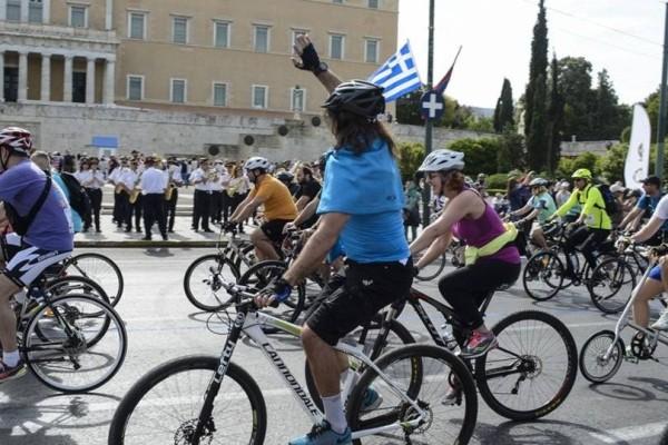 Αύριο Κυριακή 5 Μαΐου, βόλτα με ποδήλατα για τα άτομα με οπτική αναπηρία