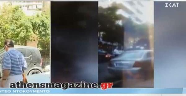 Οικογενειακό έγκλημα στο Παλαιό Φάληρο: Βίντεο ντοκουμέντο από τον τόπο του εγκλήματος!