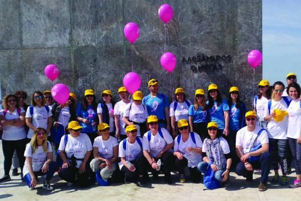 Η ομάδα της Τράπεζας Πειραιώς συμμετείχε στον φιλανθρωπικό αγώνα Sail for Pink στη Θεσσαλονίκη!