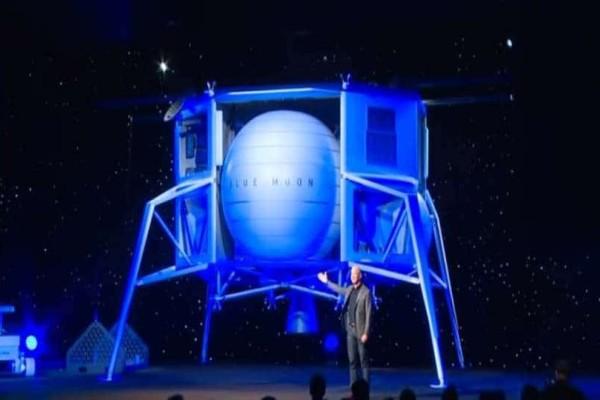 Ο ιδρυτής της Amazon μας ταξιδεύει στο φεγγάρι! (Video)