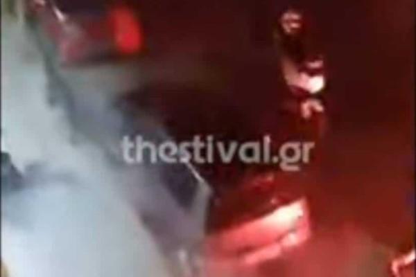 Θεσσαλονίκη: Σύγκρουση οπαδών με αστυνομικούς (Video)