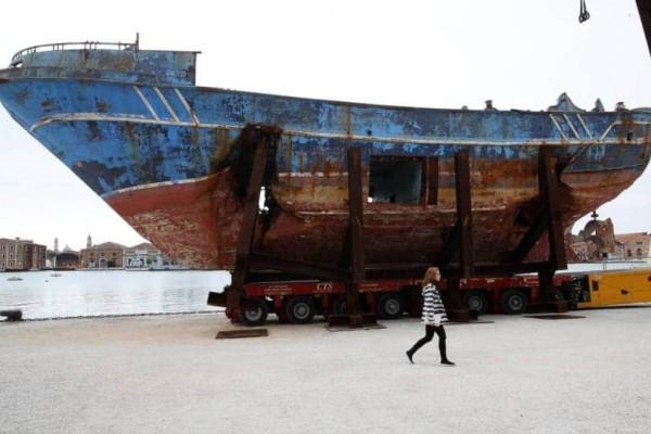 Το συμβολικό ψαράδικο γίνεται έκθεμα στη Βενετία: Πως το