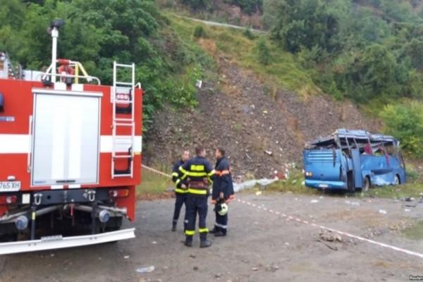 Βουλγαρία: Λεωφορείο που μετέφερε μαθητές έπιασε φωτιά!