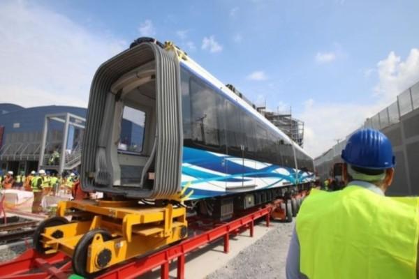 Μετρό Θεσσαλονίκης: Τα αποκαλυπτήρια του πρώτου συρμού!