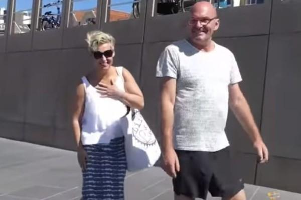 Απίστευτη φάρσα: Περπατούσαν αμέριμνοι μέχρι που είδαν... (Video)