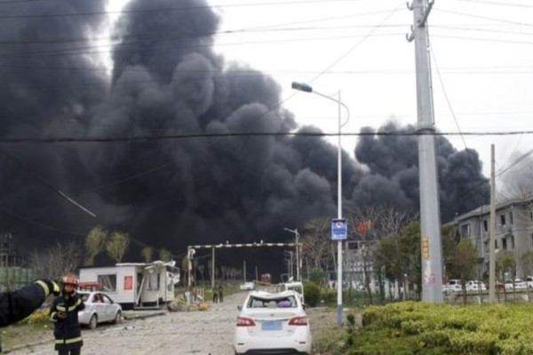 Συναγερμός στην Κίνα: Κατέρρευσε κτίριο - Τουλάχιστον 10 άνθρωποι έχουν παγιδευτεί!