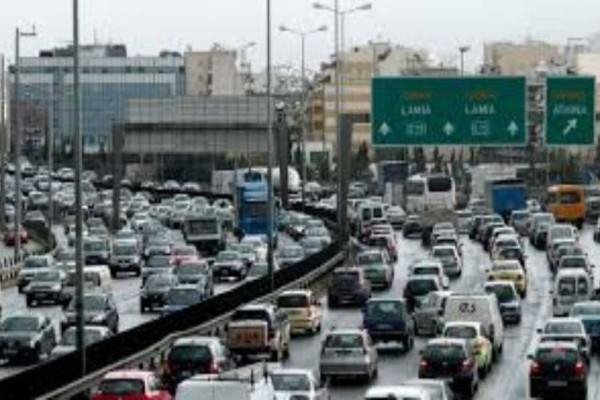 Κυκλοφοριακή συμφόρηση αυτή την ώρα σε Αθηνών-Λαμίας και Αλεξάνδρας!