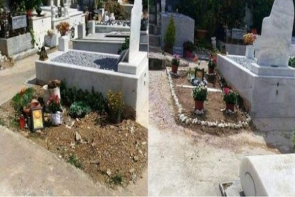Εικόνες ντροπής και εγκατάλλειψης στον τάφο πασίγνωστου Έλληνα στο Α Νεκροταφείο!