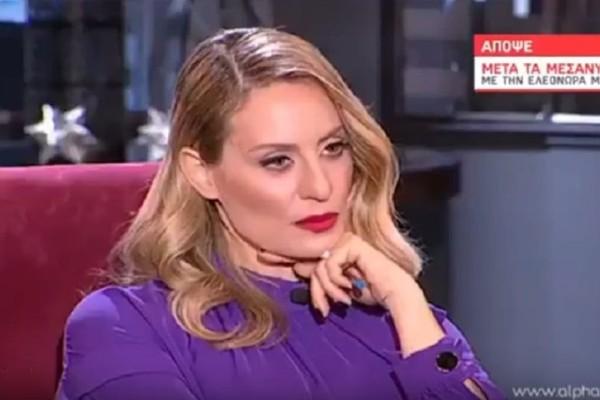 Ελεονώρα Μελέτη: Τι νούμερα τηλεθέασης έκανε στον Alpha με καλεσμένη την Νανά Παλαιτσάκη;