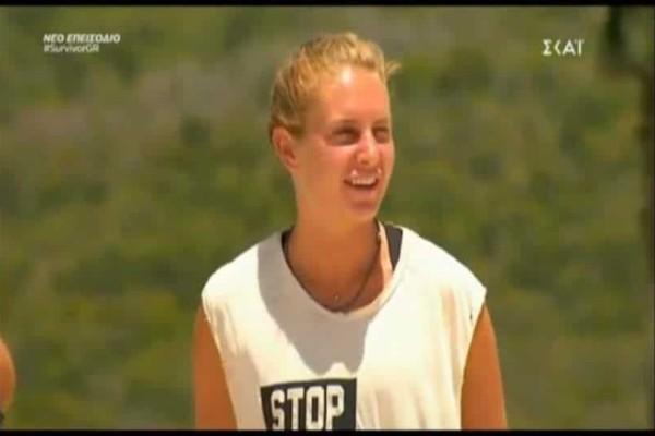 Survivor Ελλάδα Τουρκία: Η Κατερίνα Δαλάκα φοράει την μπλούζα του Ατακάν και εξομολογείται! (Video)