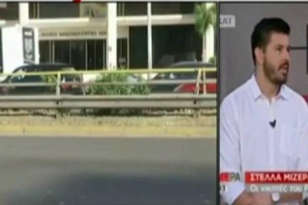 Σκοτώθηκε ο Πάνος Ζάρλας: Τα πρώτα πλάνα από το σημείο του τροχαίου!