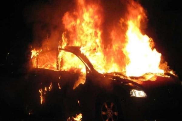 Αχαΐα: Προανακριτική διαδικασία για το αυτοκίνητο αστυνομικού που έπιασε φωτιά!