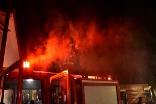 Αιτωλοακαρνανία: Νεκρή γυναίκα από φωτιά σε σπίτι!
