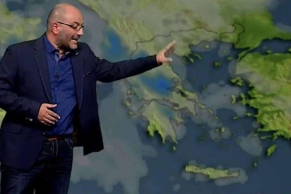 Σάκης Αρναούτογλου: Ανατροπή του... καιρού με ραγδαία επιδείνωση του καιρού και πτώση της θερμοκρασίας!