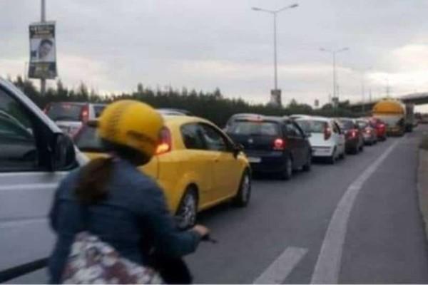 Συνέβη πριν λίγο: Καραμπόλα στην Εθνική οδό