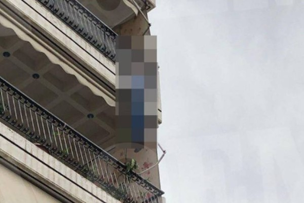 Τραγωδία στην Καλογρέζα: Σοκάρει το κρεμασμένο πτώμα από το μπαλκόνι!