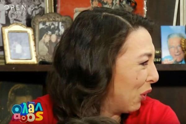 Αλίκη Κατσαβού: Δεν άντεξε και ξέσπασε σε λυγμούς! (video)