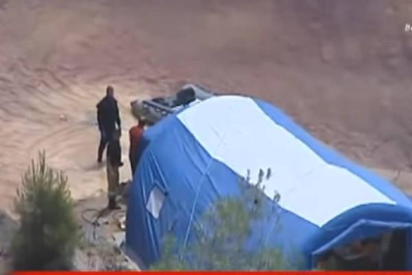 Έγκλημα στην Κύπρο: Εύρημα τυλιγμένο σε σεντόνι στην Κόκκινη Λίμνη εντόπισαν οι αρχές! (Video)
