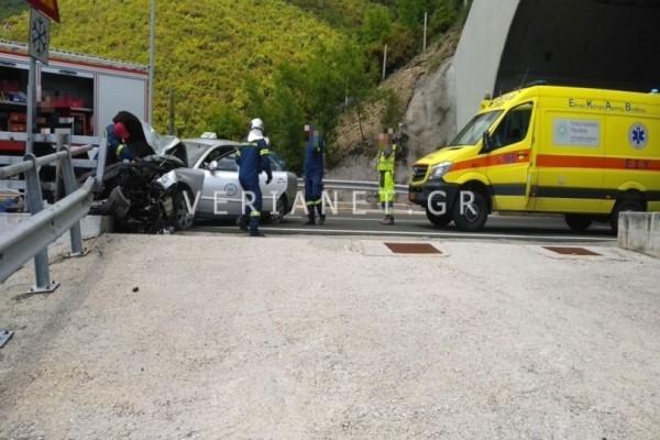 Τροχαίο δυστύχημα στην Εγνατία οδό με έναν νεκρό!